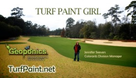 Meet Geoponics Turf Colorant Division Manager Jennifer Seevers, the turf paint expert.